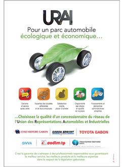 Publicité URAI Gabon